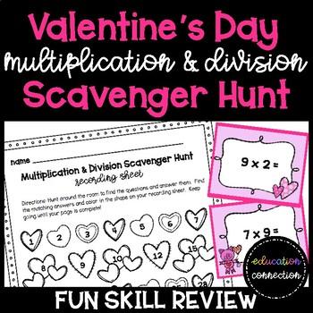 Valentine\'S Scavenger Hunt Teaching Resources   Teachers Pay Teachers