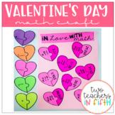 Valentine's Day Multiplying Decimals Craftivity/ Task Cards (editable)