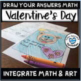 5th Grade Valentine's Day Fractions Math