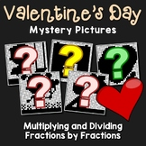 Valentine's Day Multiplying and Dividing Fractions by Fractions