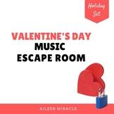 Valentine's Day Music Escape Room