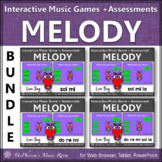 Valentine's Day Music: Interactive Melody Games + Assessment {Love Bug Bundle}