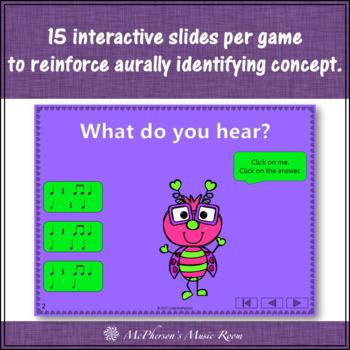 Valentine's Day Music: Interactive Rhythm Games + Assessment {Love Bug Bundle}