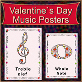 Valentine's Day Music Posters set#1