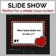 Valentines Day Music Worksheet w/100 Editable Task Cards & Slide Show