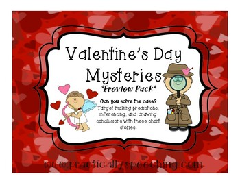 Valentine's Day Mysteries - Freebie Preview Pack