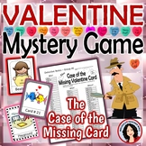 Valentine's Day Game Mystery Who Done It Game