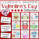 Valentine's Day Mystery Pictures: Coordinate Graphing