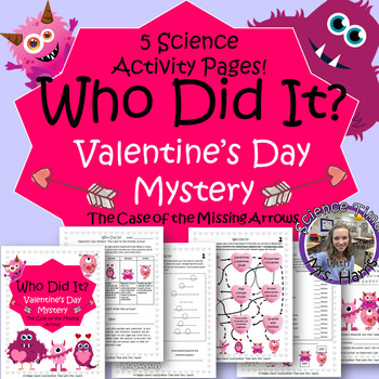 Valentine's Day Mystery- Science Activity Packet