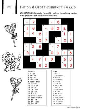 Valentine's Day NO PREP Number Puzzles