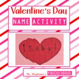 Valentine's Day Name Activity