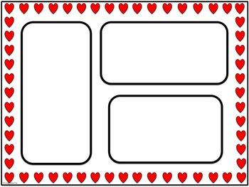 Valentine's Day Newsletters: Horizontal { Freebie }