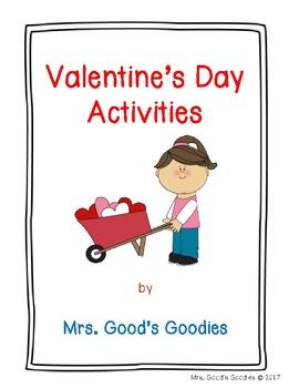 Valentine's Day No Prep Activities
