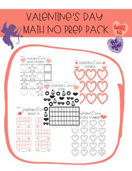 Valentine's Day No Prep Math