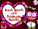 Sweet Speech and Language Bundle: Valentine's Day No-Prep Activities