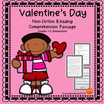 Valentine's Day Reading Comprehension Passage
