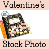 Valentine's Day Composition Book Big Candy Hearts