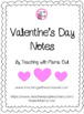 Valentine's Day Notes