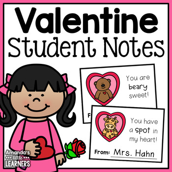 Valentine's Day Notes to Students