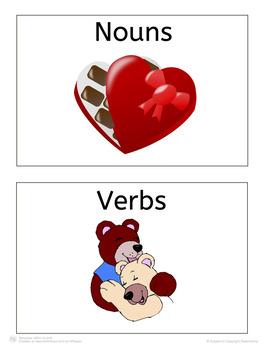 Valentine's Day Noun/Verb Sort