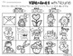 Valentine's Day Nouns: Person, Place, Thing (Color the Picture)