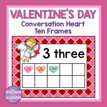 Valentine's Day Number Frames