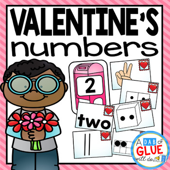 Valentine's Day Number Match-Ups