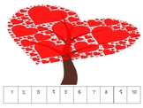 Valentine's Day Number Puzzles 1-50