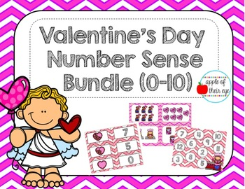 Valentine's Day Number Sense 0-10