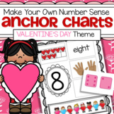 Valentine's Day Number Sense Make Your Own Anchor Charts 1-10
