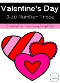 Valentine's Day Number Trace