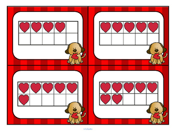 Valentine's Day Numbers Flashcards Free