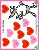 Valentine's Day Numbers Game & 1-10 Counting Mat in French