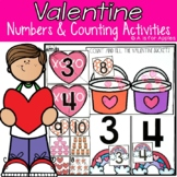 Valentine's Day Numbers and Counting Activities