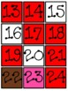 Valentine's Day Numbers to 120 Call and Color