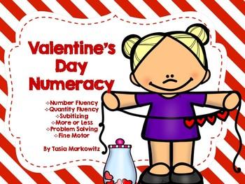 Valentine's Day Numeracy