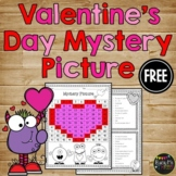 Valentine's Day One Hundreds Chart Mystery Picture {Heart}