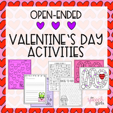 Valentine's Day Open-Ended Activities