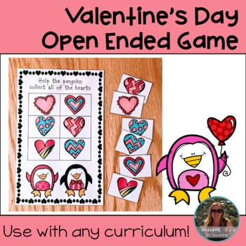 Valentine's Day Open Ended Game Board