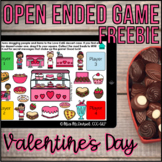 Valentine's Day Open Ended Game FREEBIE   Boom Cards™