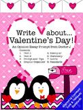 Valentine's Day Opinion Essay Writing Prompt Common Core TNReady Aligned