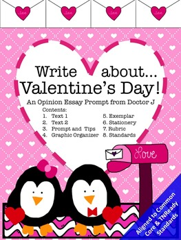 Valentine's Day Opinion Essay Writing Prompt Common Core T