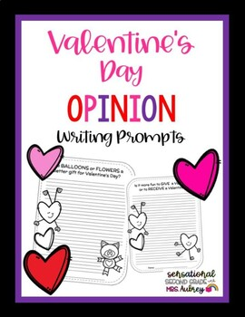 Valentine's Day Opinion Writing
