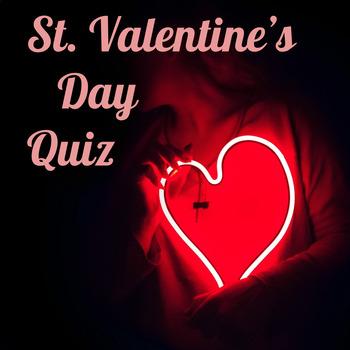 Valentine's Day Origins: article & quiz