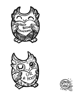 Valentine's Day Owl Cards