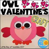 Valentine's Day Craft OWL for February