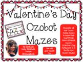Valentine's Day Ozobot Mazes