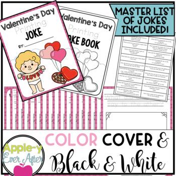 Valentine's Day PRINTING Practice Joke Book