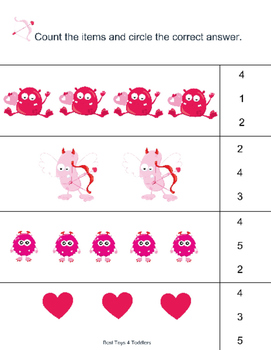 Valentine's Day Pack for Preschoolers