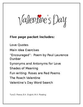 Valentine's Day Packet